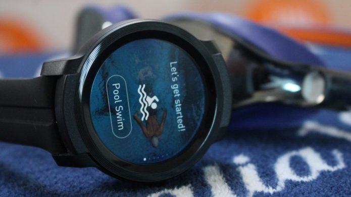 Ticwatch E2 first look: Sporty Wear smartwatch gets swim tracking skills