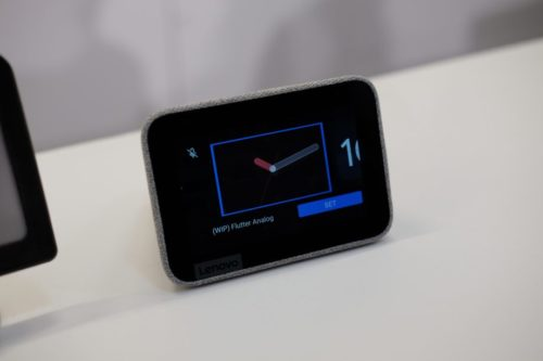 Lenovo Smart Clock first look: Google Assistant for your bedside table