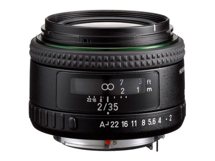 Ricoh Announces Pentax 11-18mm f/2.8 and 35mm f/2 Lenses