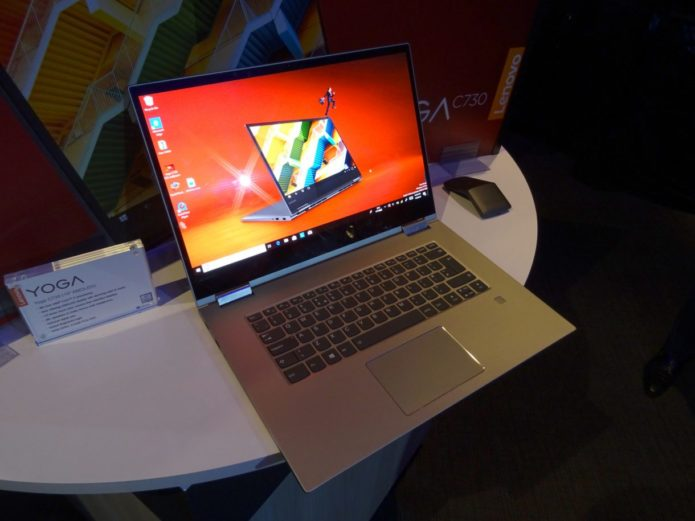 Lenovo Yoga C730 First look: 2-in-1 with a 4K AMOLED turns heads