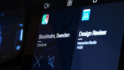 Polestar 2 Android-powered dashboard revealed – and a surprise