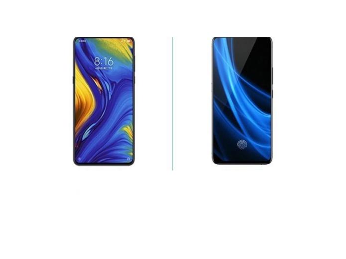 Xiaomi Mi MIX 3 vs VIVO NEX Dual-Screen Version