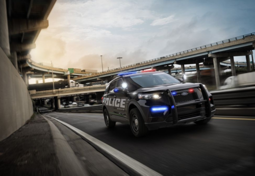 This Is the New 2020 Ford Explorer—in Cop-Car Form