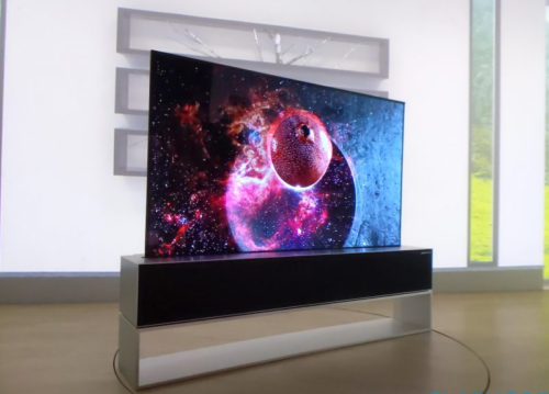 LG's rollable TV is slick enough to silence any skeptics