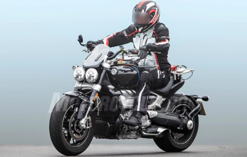 2020 Triumph Rocket III Spy Photos