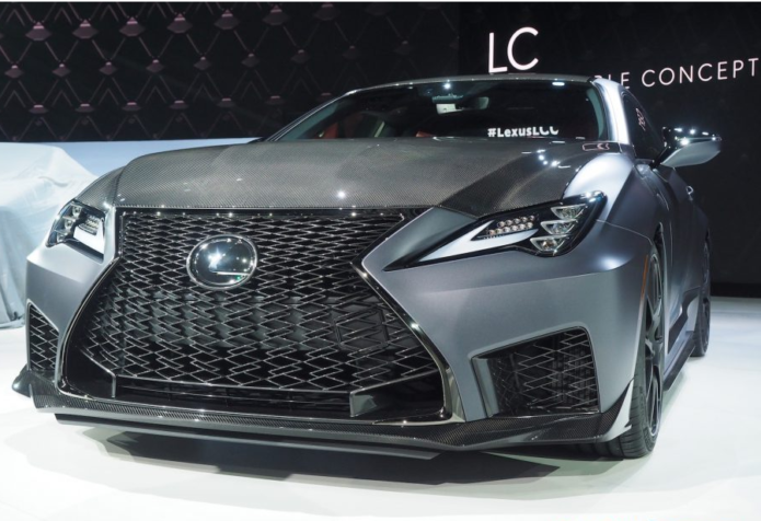 2020 Lexus RC F Track Edition gives luxury coupe real bite