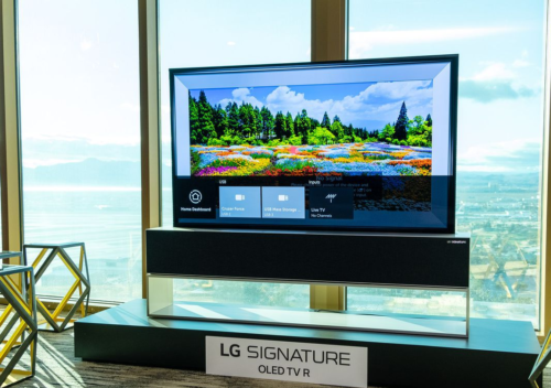 LG Signature OLED TV R first look : A TV that rolls up into a box when you're not watching it? Well, why not?!