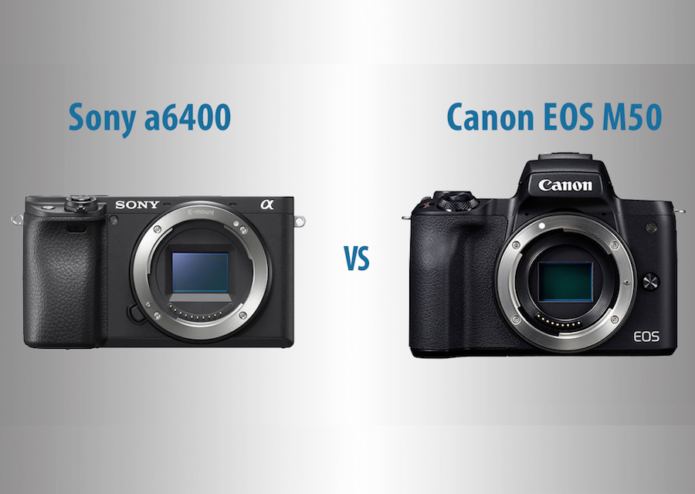 Sony a6400 vs Canon EOS M50 – The 10 Main Differences