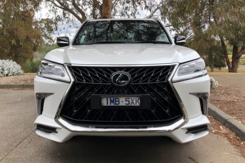 2019 Lexus LX 570 S Review : Road Test