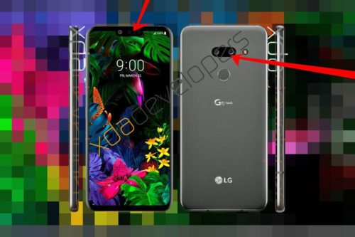 Latest leaked LG G8 ThinQ renderings examined