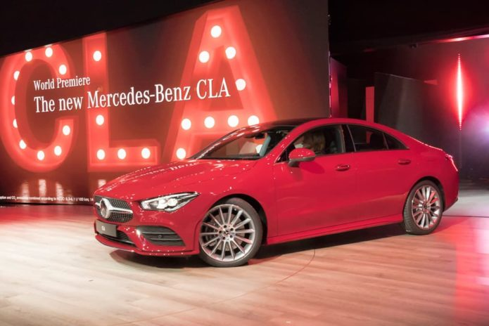 Next-gen Mercedes-Benz CLA revealed