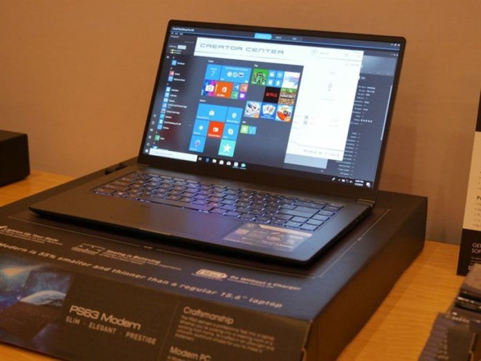 MSI PS63 Modern Hands-On: Step Aside, XPS 15