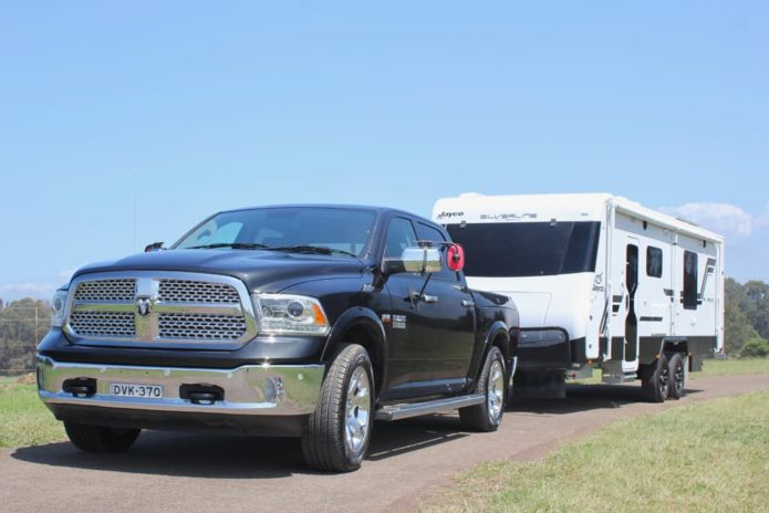 2019 RAM 1500 Laramie Review : Tow Test