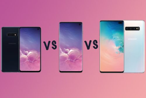 Samsung Galaxy S10 vs S10+ vs S10e vs S10 5G: Range compared