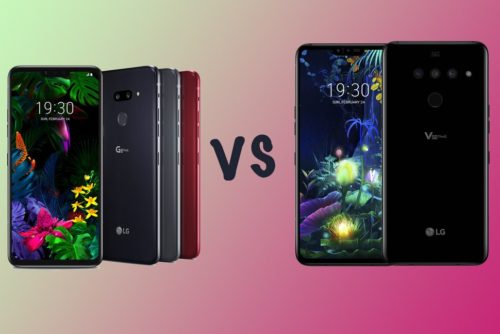 LG G8 ThinQ vs LG V50 ThinQ: Two flagships but how are they different?