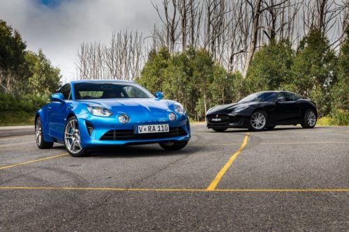FEATURE TEST: Alpine A110 and Jaguar F-TYPE 2.0