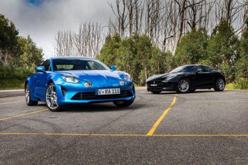 FEATURE TEST: Alpine A110 and Jaguar F-TYPE 2.0