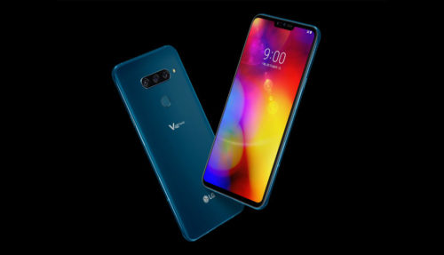 LG V40 ThinQ: 5 cameras, elegant design, FullVision display and more