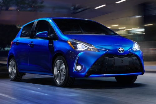 2019 Toyota Yaris Liftback Review