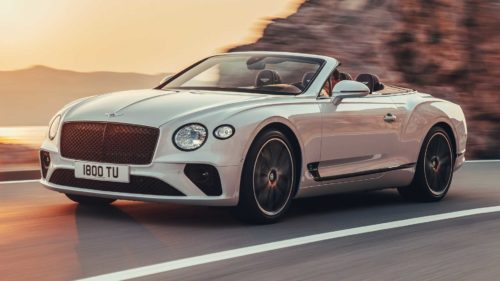 2019 Bentley Continental GT Convertible first drive review: 207-mph toupee shredder