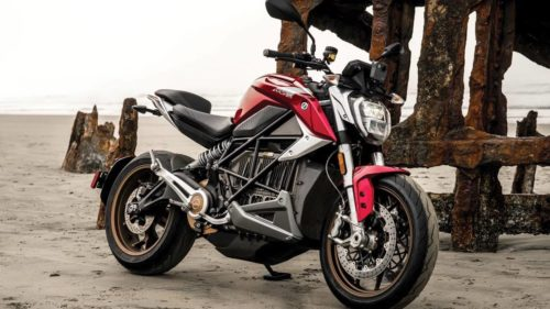 Zero Motorcycles SR/F electric bike gets faster and more connected