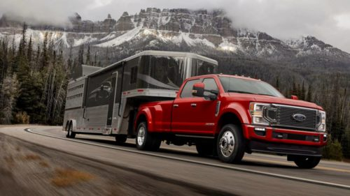 2020 Ford F-Series Super Duty promises 7.3L V8 and record ratings