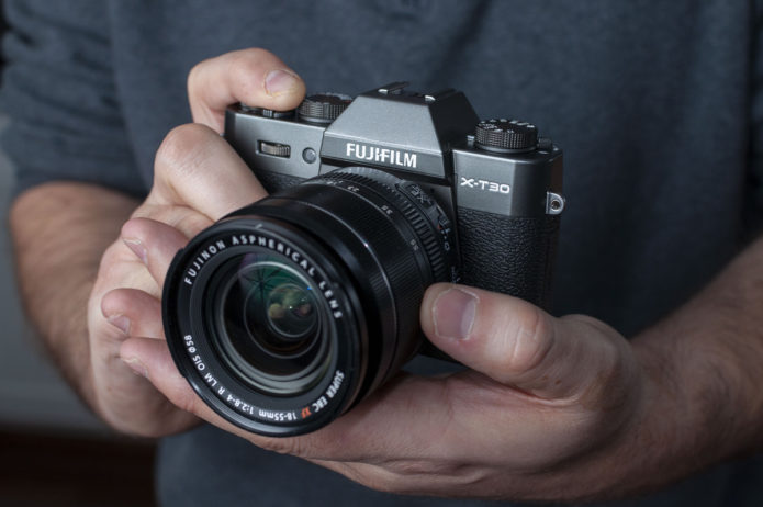 Fujifilm X-T30 review in progress