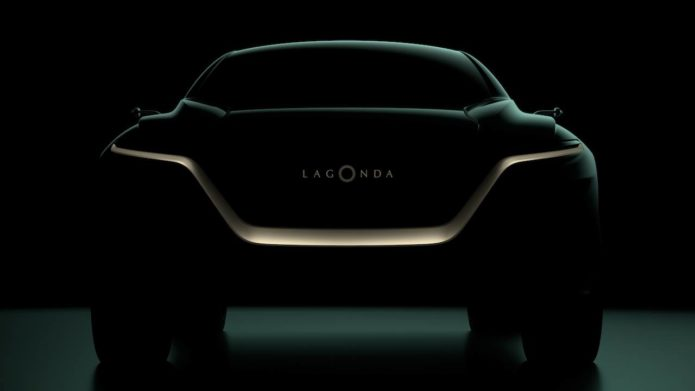 This Lagonda All-Terrain SUV will head Aston Martin's luxury EV roadmap