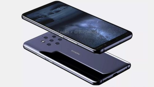 Teaser may show exactly what the five-camera Nokia 9 Pureview is capable of