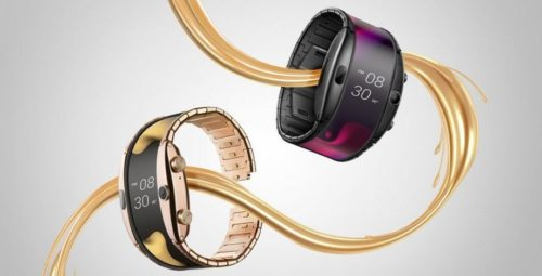 Nubia Alpha 'wearable phone' brings flexible displays back to their roots