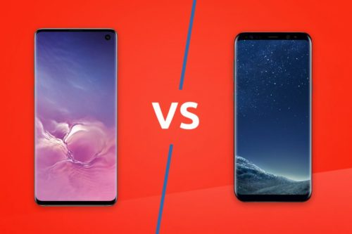 Samsung Galaxy S10 vs Samsung Galaxy S8