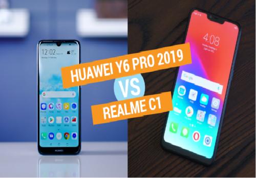 Huawei Y6 Pro 2019 vs Realme C1 specs comparison