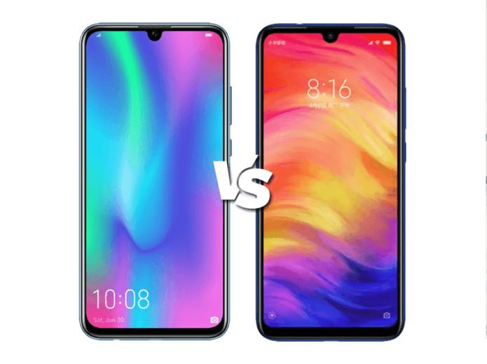 Honor 10 Lite vs Redmi Note 7 specs comparison