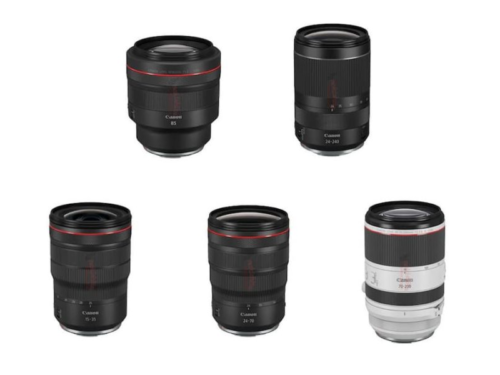 Breaking : RF 15-35mm f/2.8L IS, RF 24-70mm f/2.8L IS, RF 70-200mm f/2.8L IS, RF 85mm f/1.2L, RF 24-240 Coming Soon