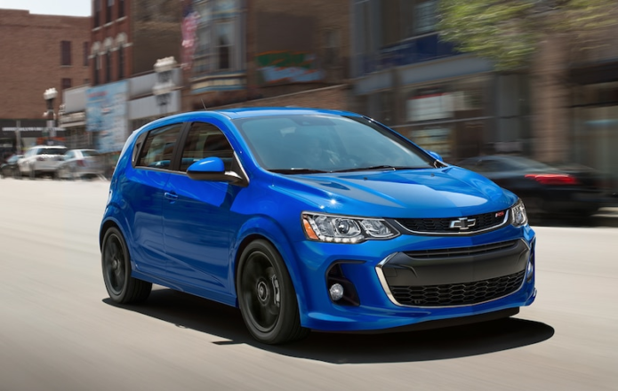 The 2019 Chevrolet Sonic Hatchback Is Still Good but Not a Great Value