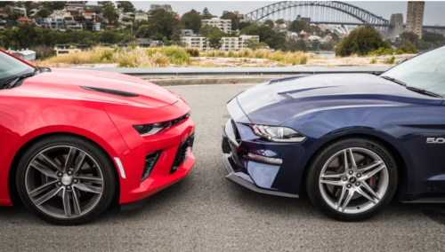 2019 Ford Mustang GT v Chevrolet Camaro 2SS Comparison