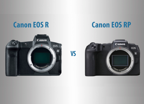 Canon EOS R vs RP – The 10 Main Differences