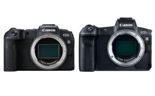 Canon EOS RP vs Canon EOS R – Specs Comparison