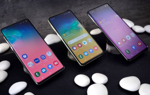 Samsung Galaxy S10 hands-on: Family of Four