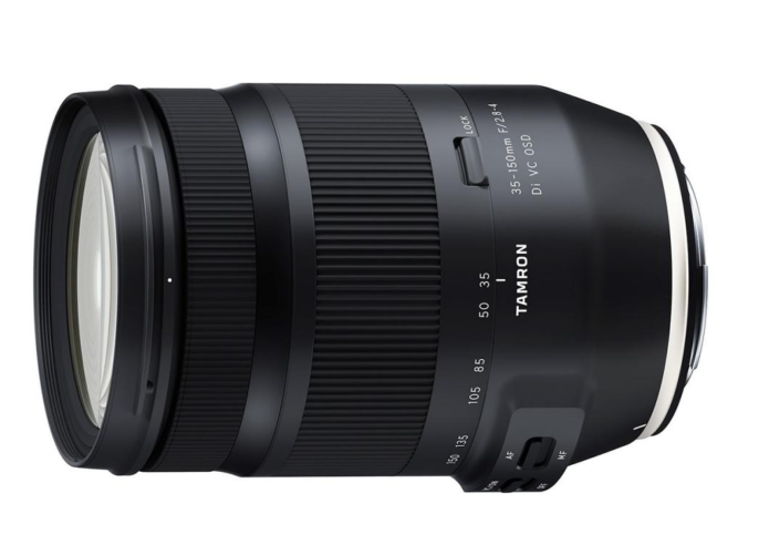 Development Announcement : Tamron 35-150mm f/2.8-4, SP 35mm f/1.4 and 17-28mm f/2.8 Lenses