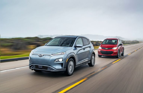 2019 Chevrolet Bolt EV and 2019 Hyundai Kona Electric Battle To Find the Best Alternative to the Tesla Model 3