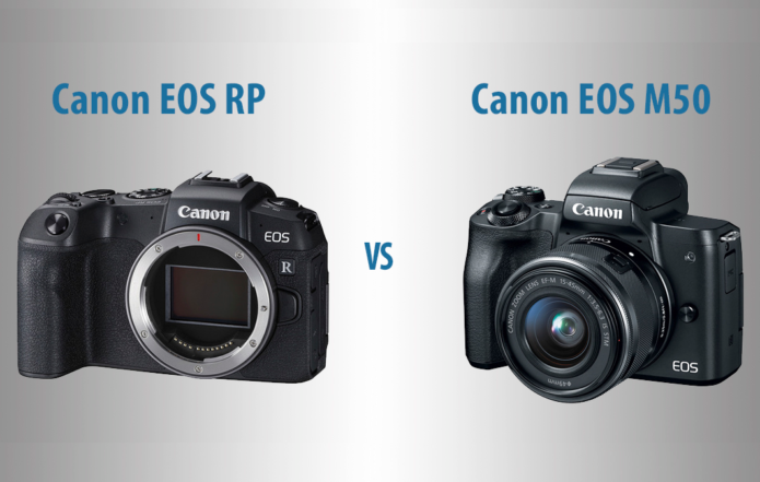 Canon EOS RP vs M50 – The 10 Main Differences