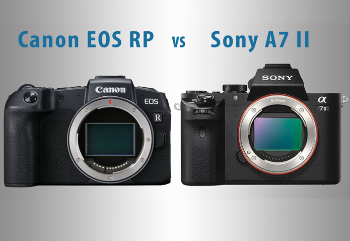 Canon EOS RP vs Sony A7 II – The 10 Main Differences