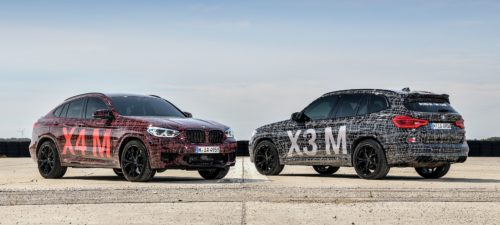 BMW's X3 M and X4 M pack 503 horsepower in nontraditional form