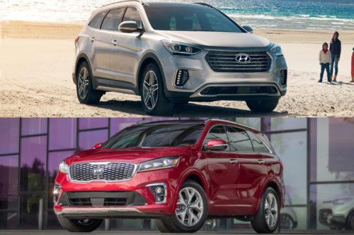2019 Hyundai Santa Fe XL vs. 2019 Kia Sorento: Which Is Better?