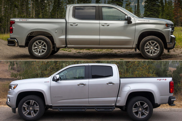 2019 Chevrolet Silverado VS 2019 Chevrolet Colorado