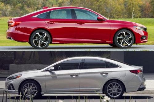 2019 Honda Accord vs. 2019 Hyundai Sonata: Which Is Better?