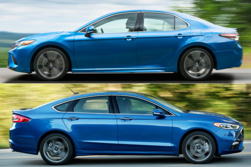 2019 Toyota Camry vs. 2019 Ford Fusion: Which Is Better?