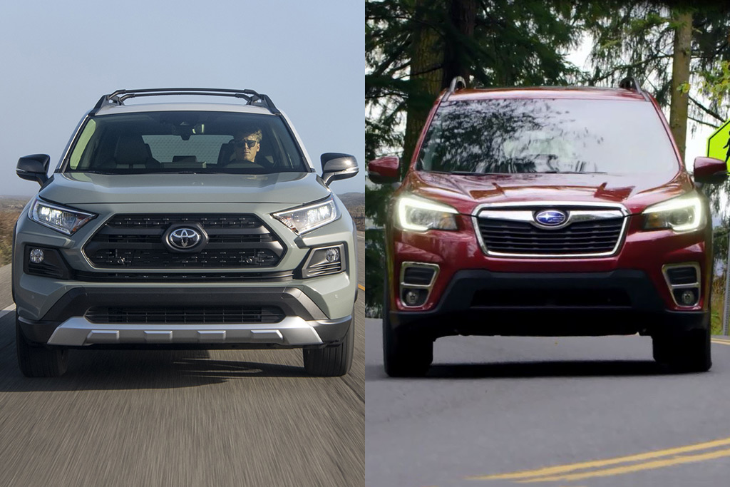 Forester Vs Outback >> 2019 Toyota RAV4 vs. 2019 Subaru Forester: Which is Better? | GearOpen