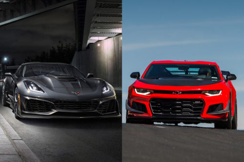 2019 Chevrolet Corvette vs. 2019 Chevrolet Camaro: What's the Difference?